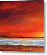 Sunset Dreamin Metal Print