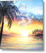 Sunset Exotics Metal Print