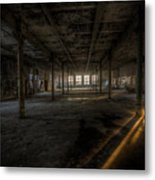 Sunset Factory Metal Print
