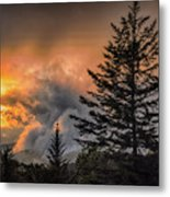 Sunset Fire Metal Print