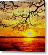 Sunset For Abigail Browne H B Metal Print