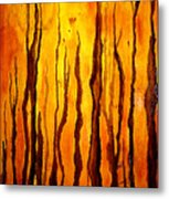 Sunset Forest Metal Print