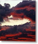 Sunset Formation Metal Print