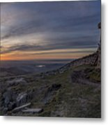 Sunset From Commedagh Metal Print