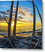 Sunset From Lovers Key, Florida Metal Print