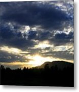 Sunset From Mcarthur Island Metal Print