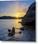 Sunset From Tubbs Hill Metal Print