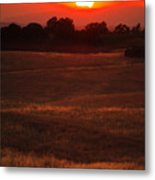 Sunset Gate Metal Print