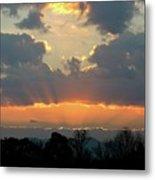 Sunset Glory Metal Print