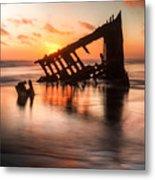 Sunset Glow 0016 Metal Print