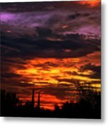 Sunset H16 Metal Print