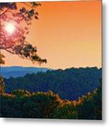 Sunset Hills Metal Print