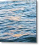 Sunset Hudson River Metal Print