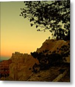Sunset In Bryce Canyon Metal Print