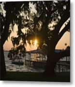 Sunset In Central Florida Metal Print