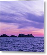 Sunset In Dubrovnik Metal Print