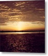 Sunset In Fl Metal Print