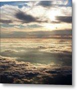 Sunset In Heaven Metal Print