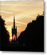 Sunset In Hyde Park Metal Print