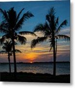 Sunset In Key West Metal Print
