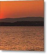 Sunset In Lassi Metal Print