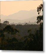 Sunset In Limpopo Metal Print