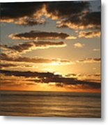 Sunset In Mexico Metal Print