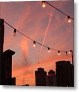 Sunset In Nashville Metal Print