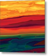Sunset In Ottawa Valley 1 Metal Print