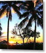 Sunset In Paradise Metal Print