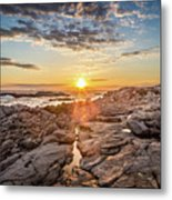 Sunset In Prospect, Nova Scotia Metal Print