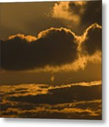 Sunset In The Heavens Metal Print