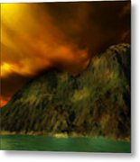 Sunset In The Island Metal Print