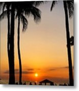 Sunset In The Sandwich Isles  Metal Print