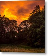 Sunset In The Shire Metal Print