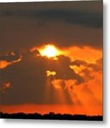 Sunset In The South Metal Print