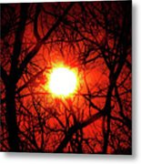 Sunset In Virginia Metal Print
