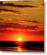 Sunset. Metal Print
