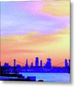 Sunset Lower Manhattan 2c2 Metal Print