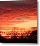 Sunset Magic Metal Print