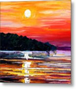 Sunset Melody Metal Print