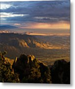 Sunset Monsoon Over Albuquerque Art Print By Matt Tilghman