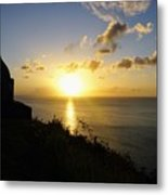 Sunset Monument Metal Print