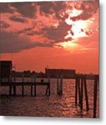 Sunset Newport Rhode Island Metal Print