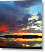 Sunset Of Colors Metal Print