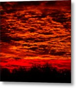 Sunset Of New Mexico Metal Print by Savannah Fonner