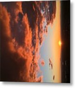 Sunset Of The West Metal Print