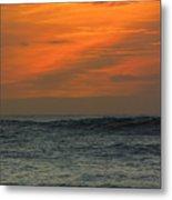 Sunset Ohau Metal Print