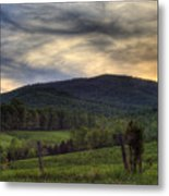 Sunset On Appleberry Mountain 2 Metal Print