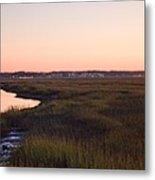 Sunset On Broad Creek Hilton Head South Carolina Metal Print